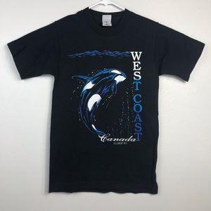 VTG 90's West Coast Canada Ucluelet BC T-Shirt